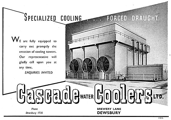 Cascade Water Coolers - Cooling Towers