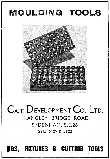 Case Development . Moulding Tools, Jigs & Fixtures