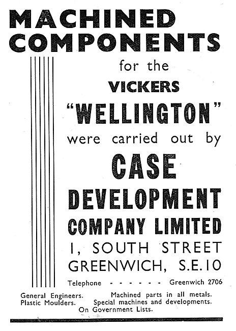 Case Development. Greenwich. Machined Parts