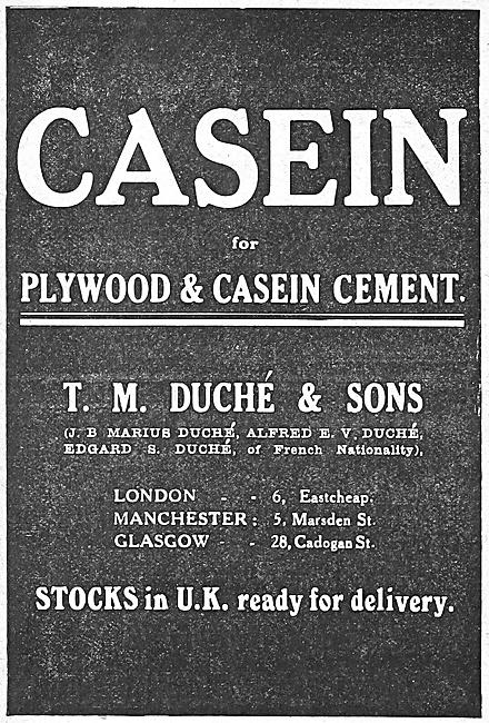 Casein Plywood & Casein Cement