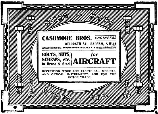 Cashmore Bros. AGS Parts