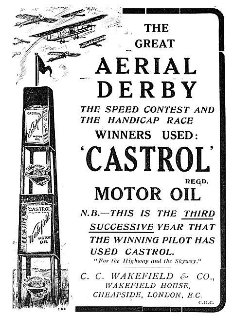Winners User Castrol R Aero Engine Oils