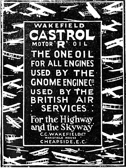 Castrol R Motor Oil For The Highway And The Skyway