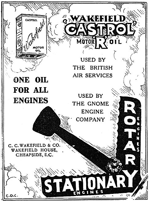 Castrol R - One Oil For All Engines