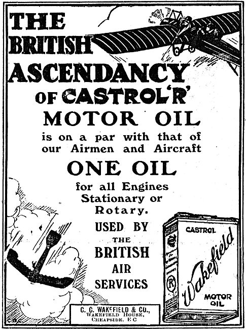 The British Ascendancy Of Castrol R Motor Oil