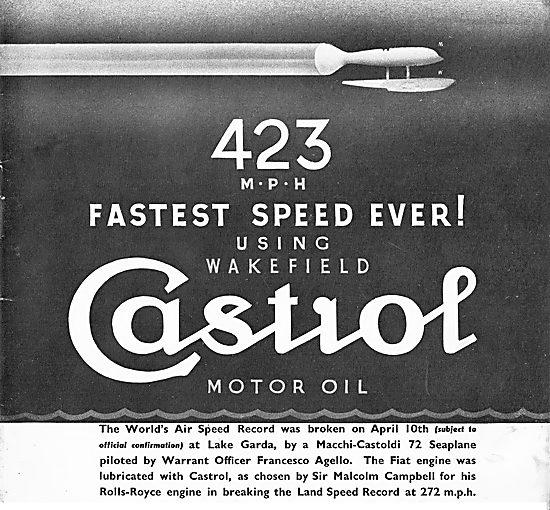 Castrol 423mph Machi Castoldi Speed Record