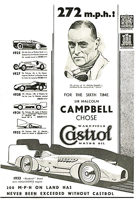 Castrol Malcolm Campbell