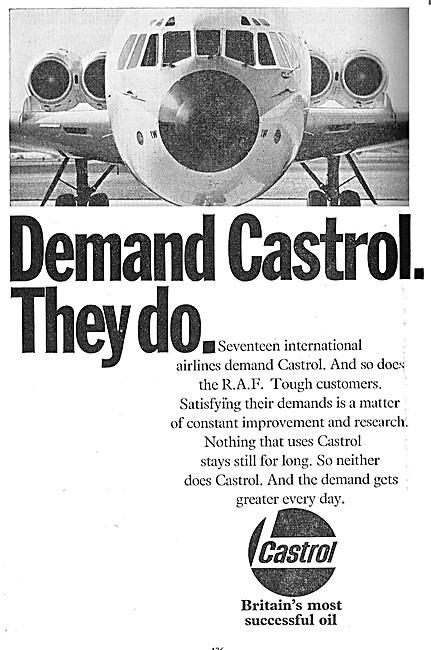 Castrol Aviation Lubricants