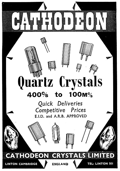 Cathodeon Quartz Crystals