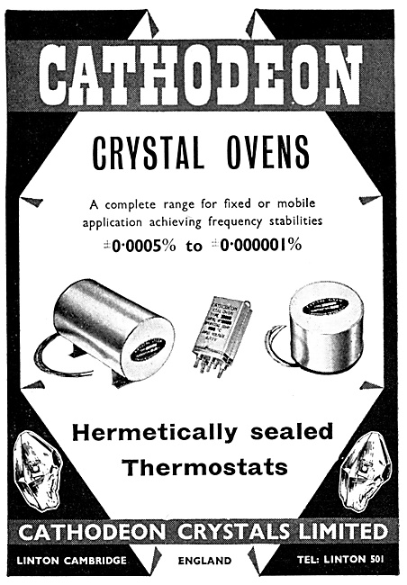Cathodeon Crystals. Crystal Ovens