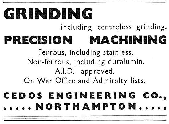 Cedos Engineering. Northampton. Precision Machining