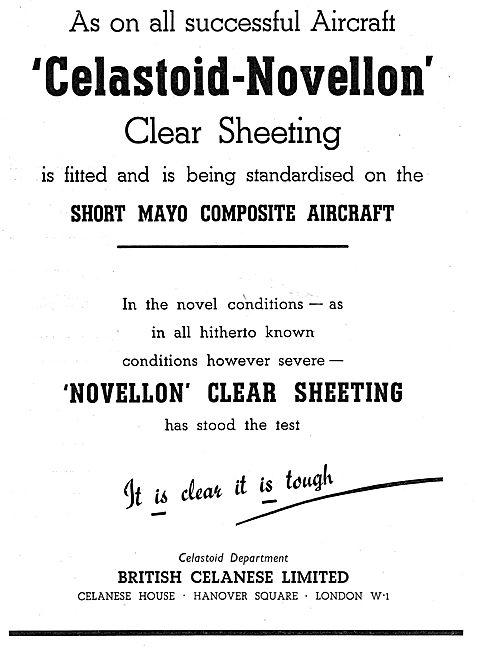 British Celanese Novellon Sheeting, Dopes & Varnishes