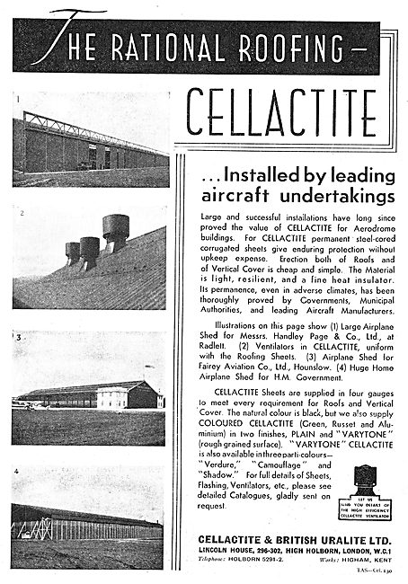 Cellactite Roofing For Aircraft Hangars