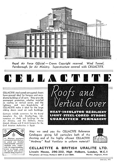 Cellactite Hangar  Roofs & Coverings