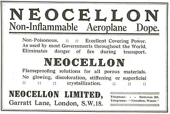 Neocellon Non-Inflammable Aeroplane Dope