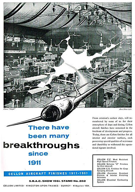Cellon Aircraft Finishs 1911-1961