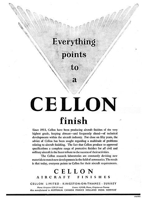 Cellon Aircraft Finishes