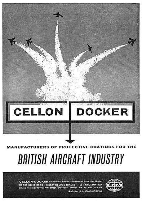 Cellon-Docker Protective Coatings For Aircraft - Paints