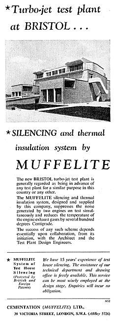 Cementation Muffelite Silencing & Insulation System
