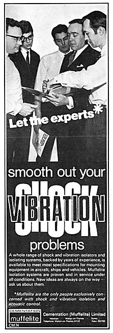Cementation Muffelite Anto-Vibration Mountings