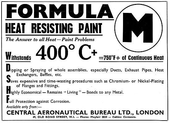 Central Aeronautical Bureau - Formula M Heat Resistant Paint