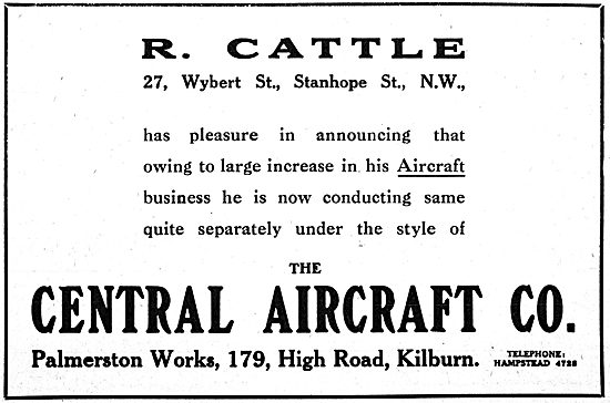 The Central Aircraft Company School - R.Cattle