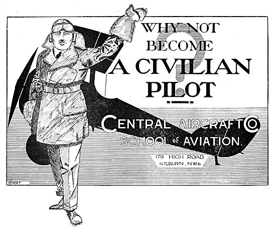 The Central Aircraft Company School Of Aviation