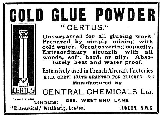 Central Chemicals CERTUS Glue Powder 1917