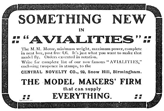 Central Novelty Co Snow Hill Bhm, Something New In Avialities