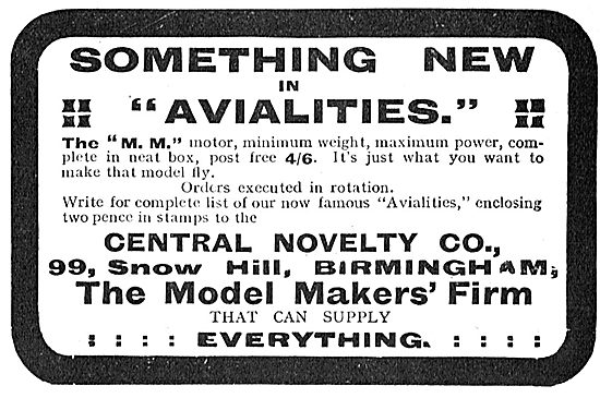 Something New In Avialites From Central Novelty.