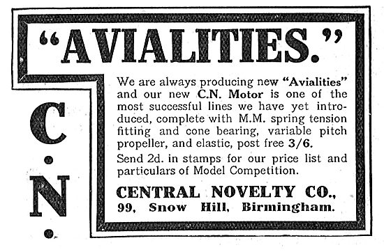 Something New In Avialities From Central Novelty Co