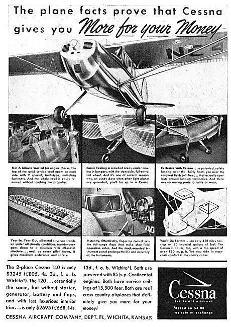 Cessna 120 - Cessna 140