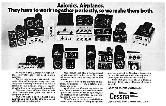 Cessna Avionics 1972 Ranges