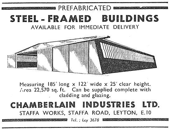 Chamberlain Industries - Hangars & Steel Buildings 1950