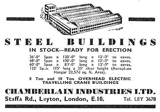 Chamberlain Industries Steel Buildings & Hangars
