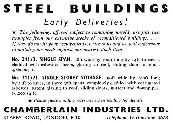 Chamberlain Industries - Hangars & Steel Buildings