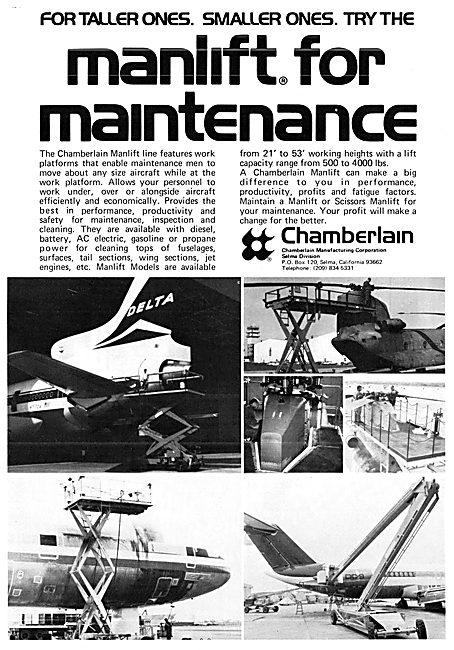 Chamberlain Manufacturing  - Manlift Maintenance Platform