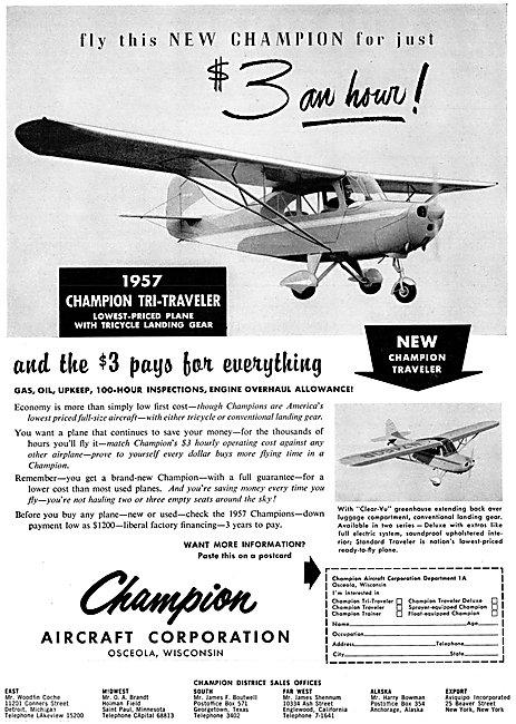 Champion Traveler - Champion Tri-Traveler