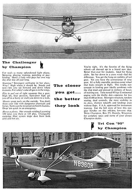 Champion Challenger - Champion Tri Con 95