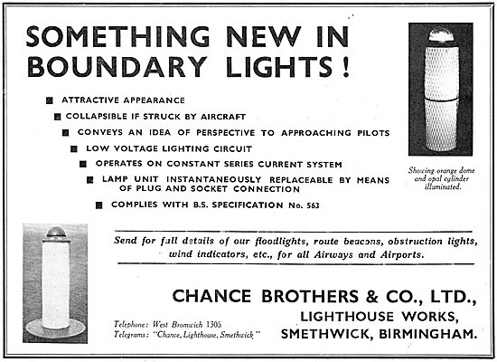 Chance Airfield Boundary Lights