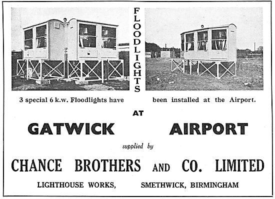 Chance Lighting For Aerodromes: Floodlights At Gatwick