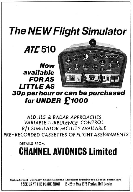 Channel Avionics ATC 510 Flight Simulator