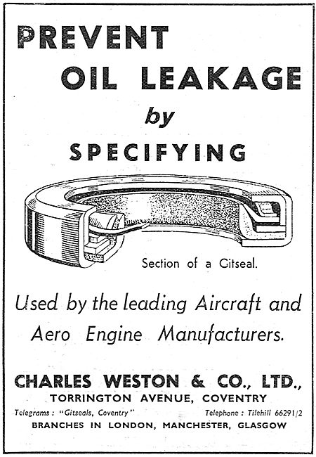 Charles Weston : Gitseals