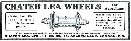 Chater Lea Aeroplane Wheels