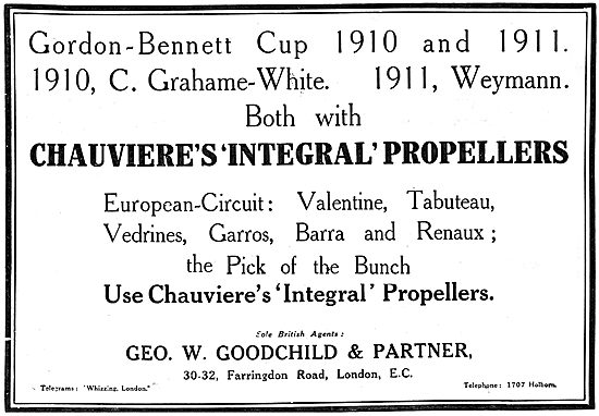Chauviere's Integral Propellers