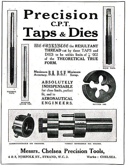 Chelsea Precision Tools - Precision Toolmakers