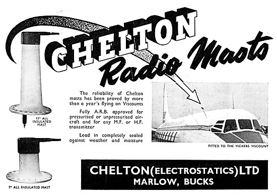 Chelton Aircraft Radio Aerial Masts