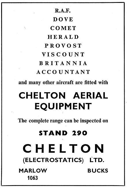 Chelton Aircraft Aerial Equipment