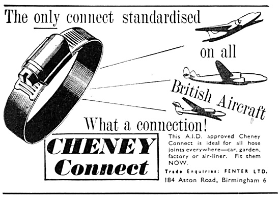 Cheney Connect Hose Joints