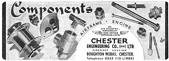 Chester Engineering. Boughton Works, Chester. AGS & Parts